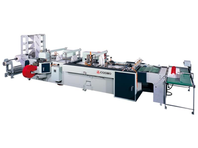 SH-800-F4 / 4 Fonksiyonlu Yan Kaynak Poşet Kesim Makinesi