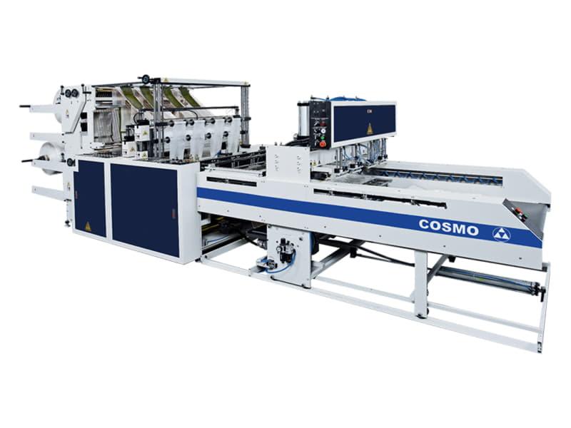 COSMO - SCB-800-L8 / SCB-1100-L8 / 8 Hatlı Atlet Poşet ve Alt Kaynak Kesim Makinesi