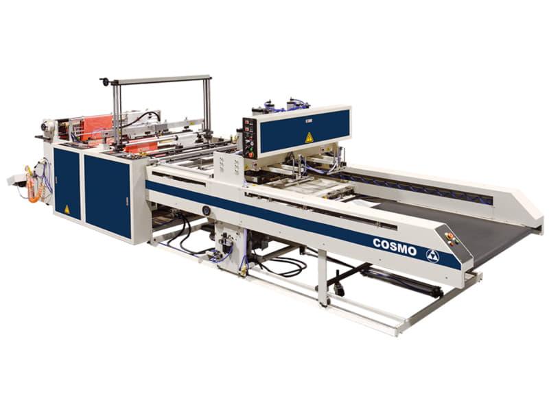 COSMO - SCB-800/1100-L2S, L4, L6 / Çift Hatlı Atlet Poşet ve Alt Kaynak Kesim Makinesi