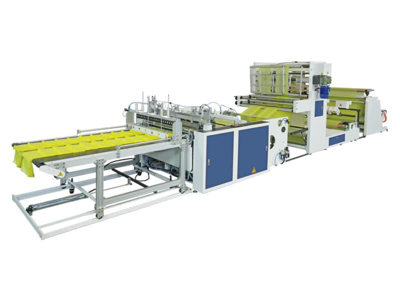 COSMO - SB-1100-G3+D / Üç Hatlı Sıcak Dilimleme ve Körüklü Alt kaynak Kesim Makinesi (El Geçme Üniteli)