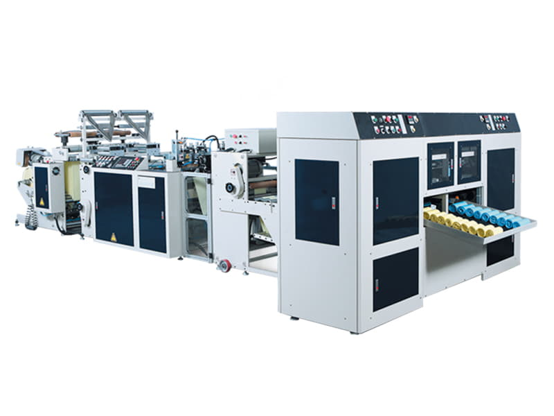 COSMO - SR-40 / 2 Hatlı Masurasız Yıldız Kaynak Rulo Çöp Torbası Kesim Makinesi