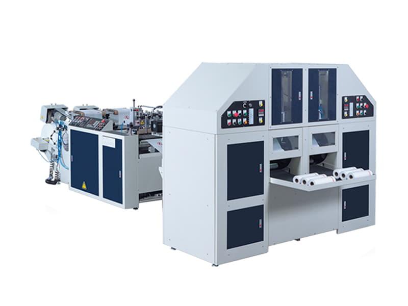 COSMO - SCR-40 / 2 Hatlı Masuralı Rulo Sebze Poşeti Kesim Makinesi