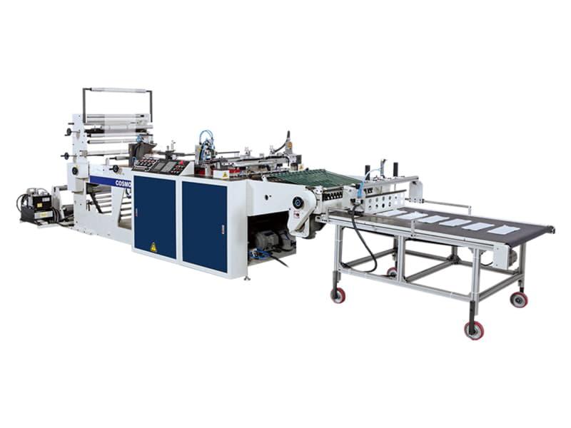 COSMO - SHTB-28 / Yan ve Alt Kaynak Kesim Makinesi (LDPE,HDPE,PP,OPP,BOPP&CPP)