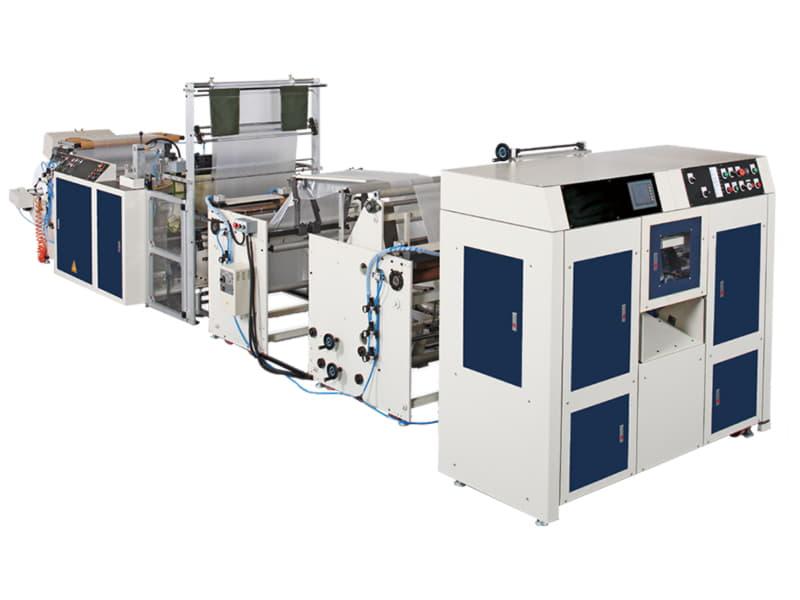 COSMO - SMNR-1000 / Masurasız, V,C,Z,M Katlamalı Çöp Torbası ve Masa Örtüsü Kesim Makinesi