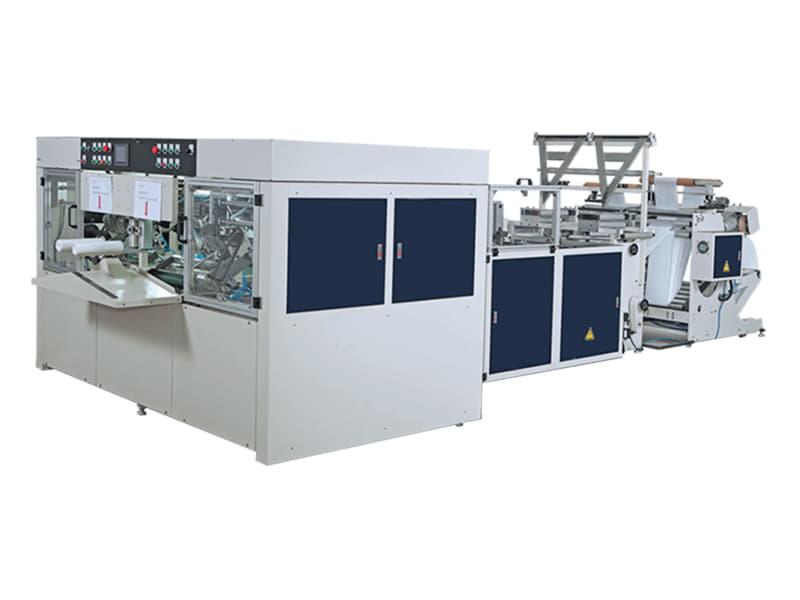 COSMO - SIR-400-L2 / 2 Hatlı Masurasız İç İçe Geçmeli Yıldız ve Alt Kaynak Rulo Kesim Makinesi