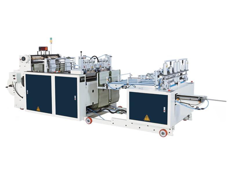 COSMO - SSIR-300-L2 / 2 Hatlı Masurasız İç İçe Geçmeli Yıldız ve Alt Kaynak Rulo Kesim Makinesi