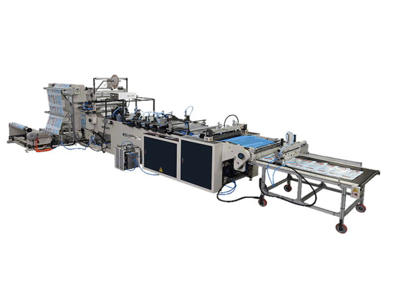SH-32 / Yüksek Hızlı Yan Kaynak Kesim Makinesi (LDPE, PP, OPP)