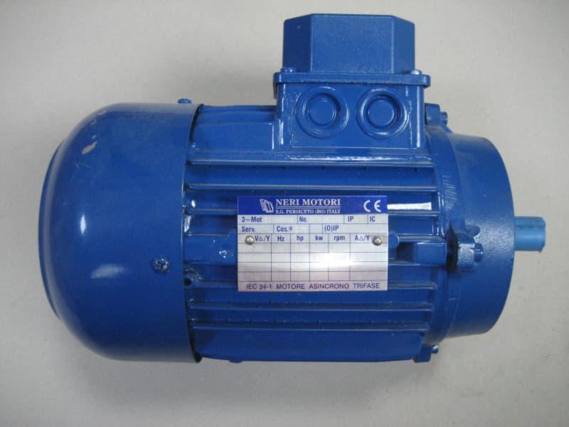 Çözgü Motoru (Bağımsız) RA71B4B14 0.5HP
