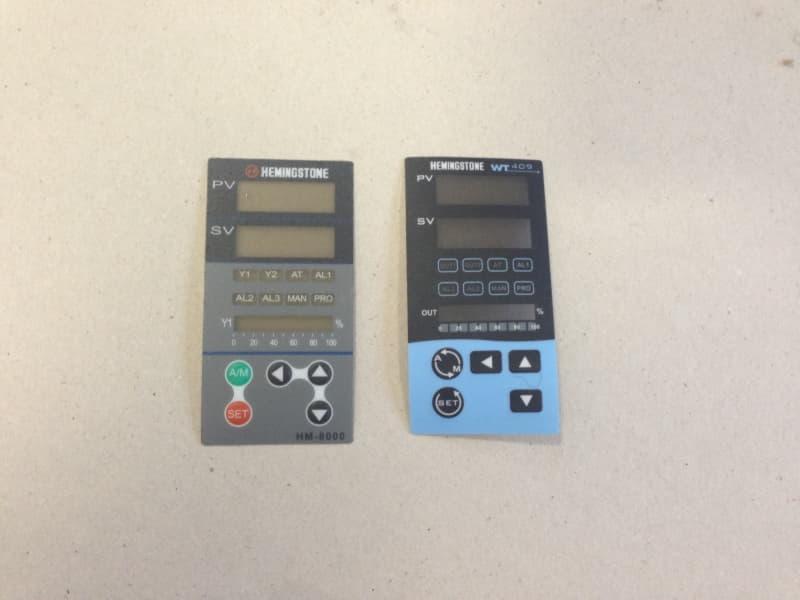 Temperature Controller Sticker