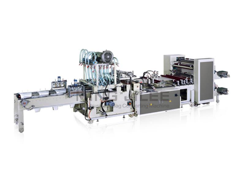 MING JILEE - Otomatik İstifleme Çiçek Poşeti Kesim Makinesi