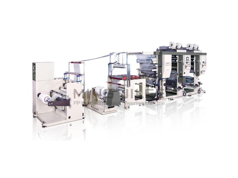 MING JILEE - 2 Renkli Rotogravür Baskı Makinesi