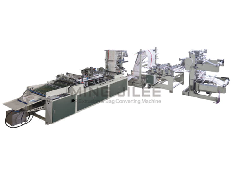 MING JILEE - Balonlu Ambalajlı Kraft Kağıt Zarfı Makinesi