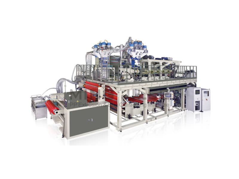 Triple Manifold CPP Film Co Extrusion Line