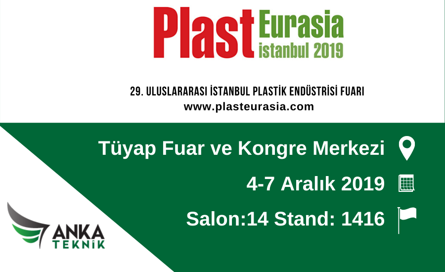 Plast Eurasia 2019'a Davetlisiniz!