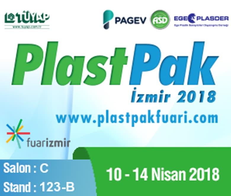 PlastPak İzmir 2018 Stand Bilgilerimiz