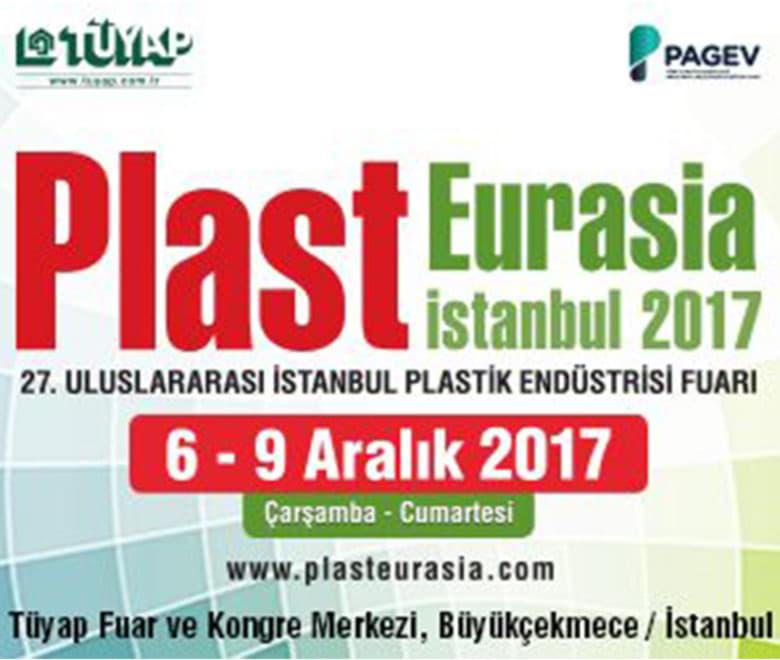 Plast Eurasia 2017 Stand Bilgilerimiz