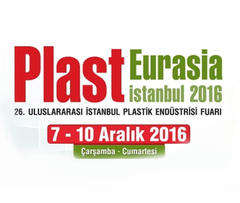 Plast Eurasia 2016 Stand Bilgilerimiz