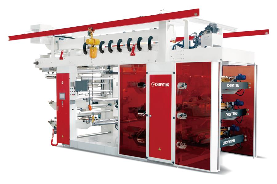 CHOVYTING - CW-1206 FP - Yüksek Hızlı Fleksografi Baskı Makinası