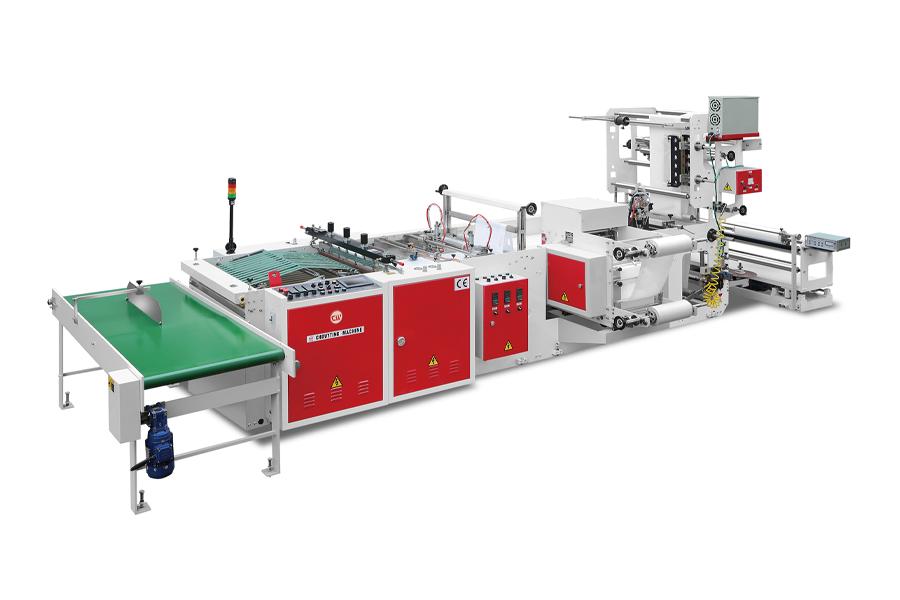 CHOVYTING - CW-800LP- Tam Otomatik Yumuşak Saplı Poşet Kesim Makinası