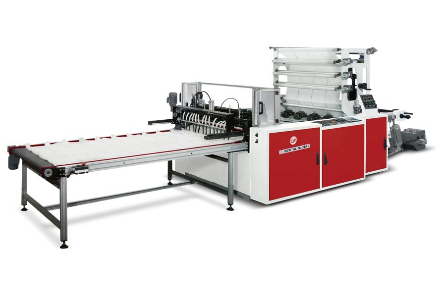 CW-1000BS5 - Yüksek Hızlı Alt Kaynak Poşet Kesim Makinası