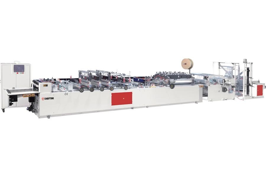 CW-600B Çok Fonksiyonlu Laminasyonlu Poşet Kesim Makinası
