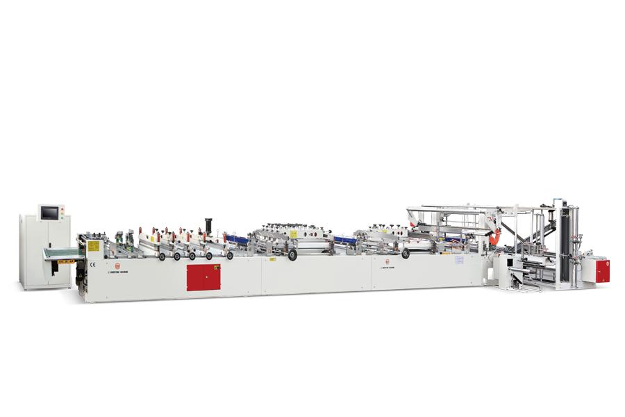 CW-600C+CS Otomatik Çok Fonksiyonlu Laminasyonlu Poşet Kesim Makinası