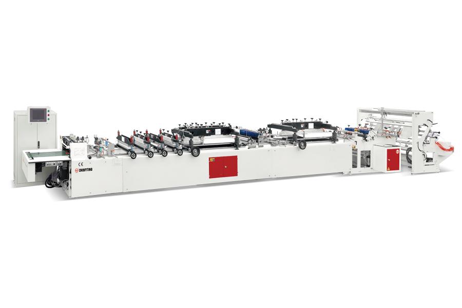 CW-600ZF+SZ Merkez ve Alt Kaynak Poşet Kesim Makinası