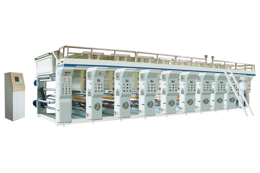 CHOVYTING - CWASY-B - Bilgisayar Kontrollü Yüksek Hızlı Rotogravür Baskı Makinası