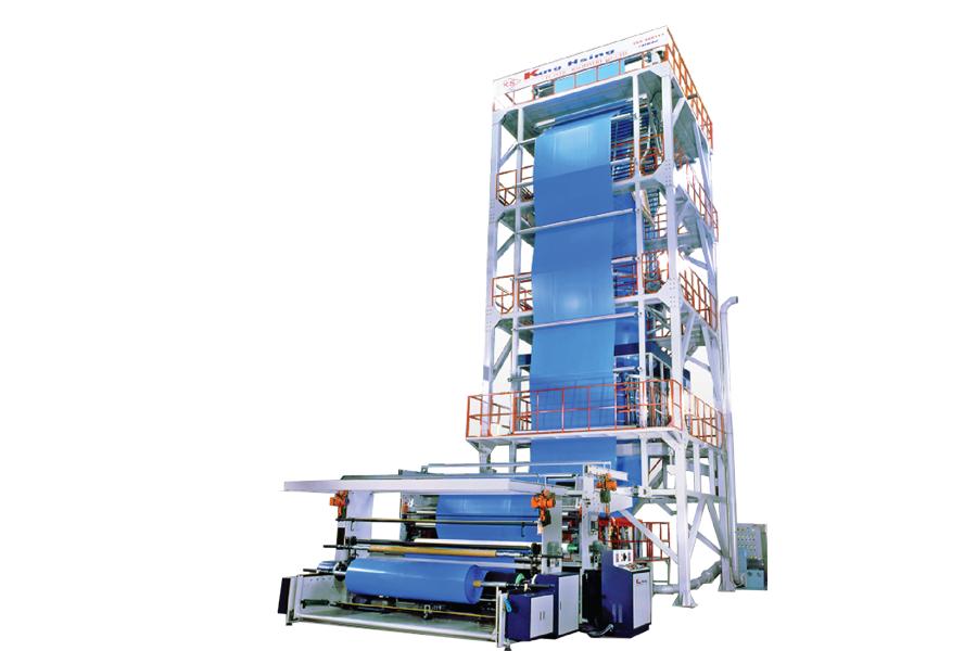 KUNG HSING - Tek Katlı Super Hızlı LDPE Film Ekstrüderleri