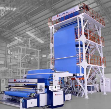 Tek Katlı Super Hızlı LDPE Film Ekstrüderleri