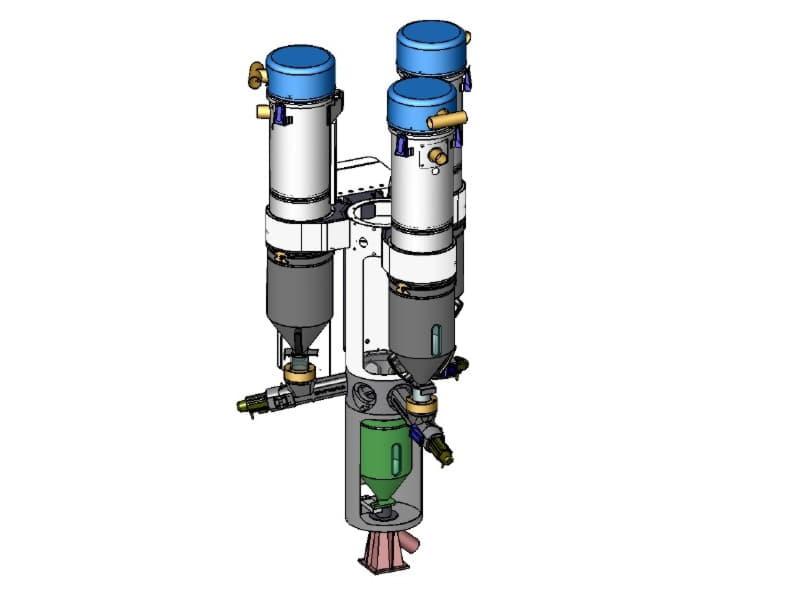 Syblend - Gravimetrik Azalan Tartı Mikserli Dozajlama Sistemi (LIW)
