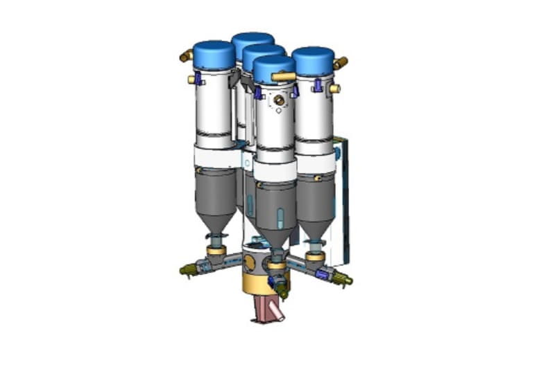 Sydos -Gravimetrik Azalan Tartı Dozajlama Sistemi (LIW)